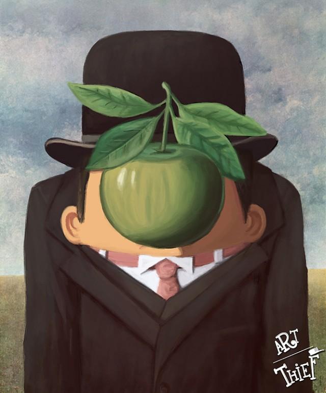 VICO Tahir, Art Thief Rene Magritte, Paris, 2013.