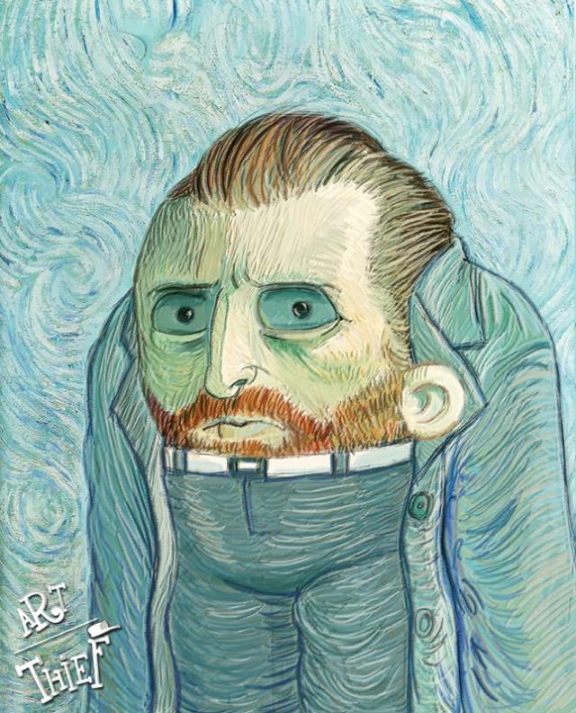 VICO Tahir, Art Thief Van Gogh, Paris, 2013.