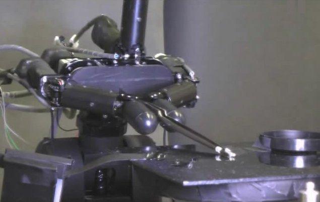 Robot_Hand_Grasp_Grain_Rice_Tweezers