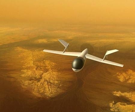 drone visite titan saturne
