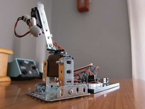 Chat_laser_robot