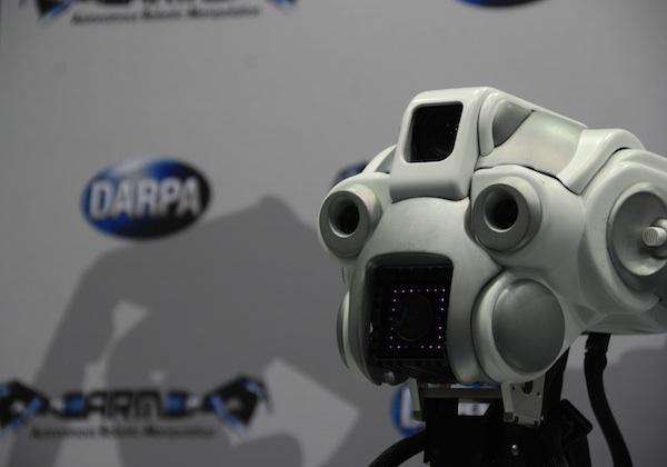 darpa arm robot