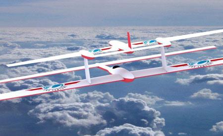 UAV batteries energie infinie