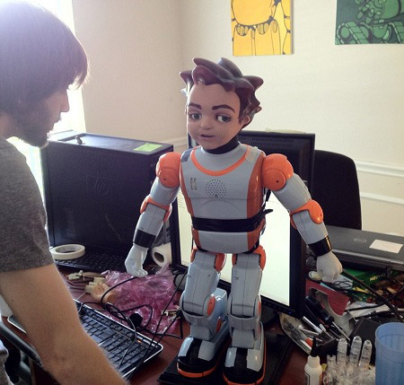 Hanson Robotics Zeno Low Cost