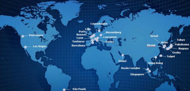 Métros autonomes installés dans le monde en 2011.