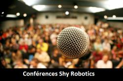 Début des conférences Shy Robotics